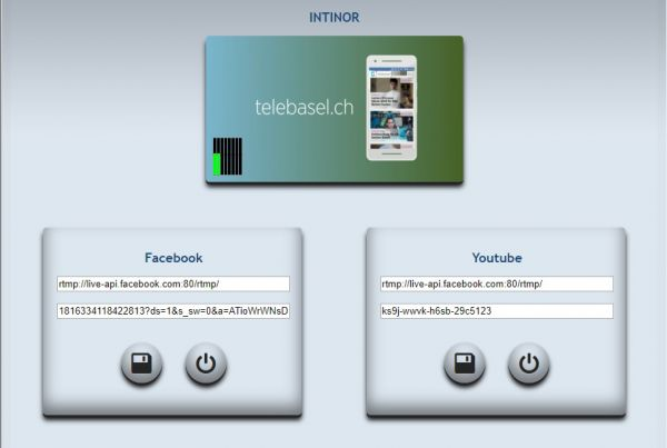 intinor API - Telebasel